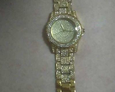 Diamond unisex watch