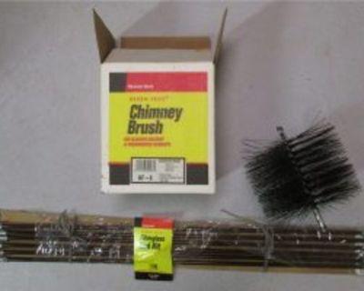 Kleen Flue chimney brush