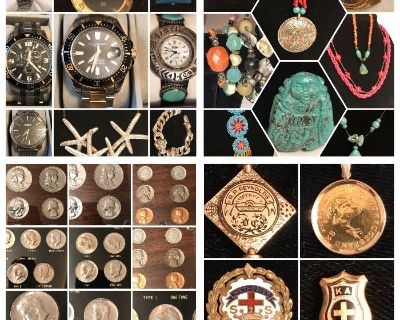 2 DAY WATCH, JEWELRY, COIN, GOLD & SILVER SALE! OVER 15,000 PCS