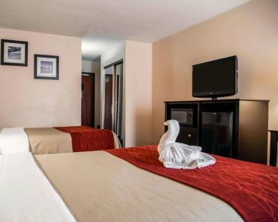Close to Parks! Comfy Unit for 4 Guests, Pool, Breakfast, Parking, Shuttle - Orlando