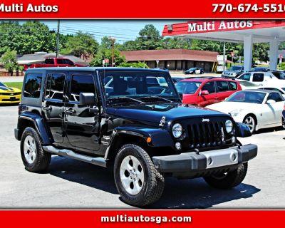 Used 2014 Jeep Wrangler Unlimited Sahara 4WD