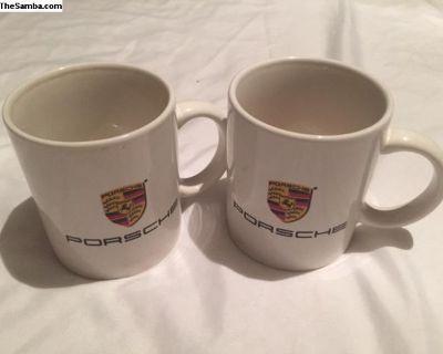 Porsche Coffee Mugs 50 years of Porsche 1948-1998