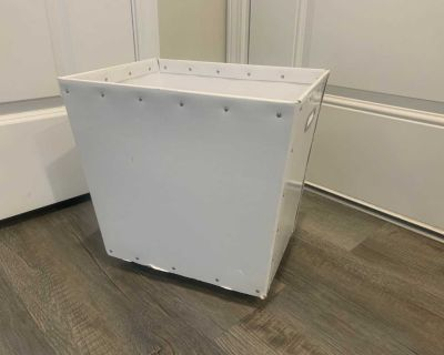 The Container Store Rolling Storage Bin!