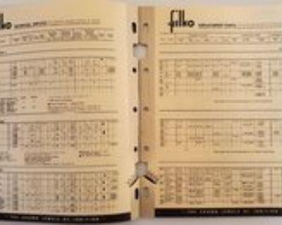 FILKO Ignition Guides 1958 1961 & 1964
