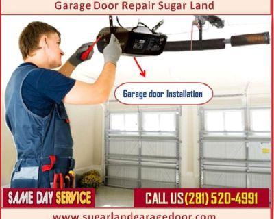Roll up Garage Door Opener Repair Sugar Land TX @ Just $25.95