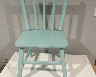 Child s Wood Chair