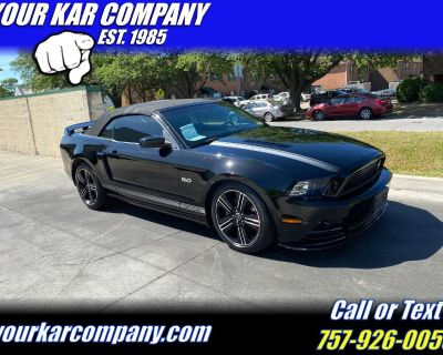 2013 Ford Mustang GT CONVERTIBLE California Special
