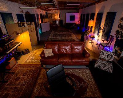 Spacious Warm Vibey DTLA Recording Studio, Los Angeles, CA