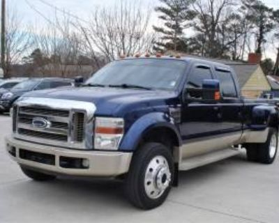 "2008 Ford Super Duty F-450 King Ranch Crew Cab 172"" DRW 4WD"