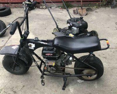 Newly built Motovox 212 mini bike