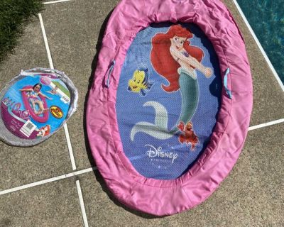 Disney Princess kids boat spring float