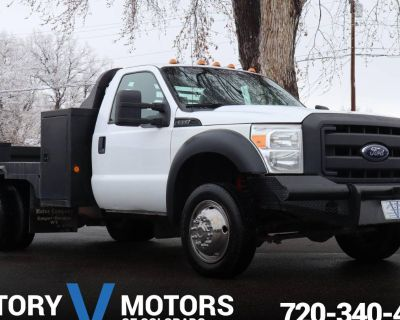 2011 Ford Super Duty F-550 Chassis Cab XLT