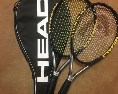 New Tennis rackets HEAD set of two TiSi Pro