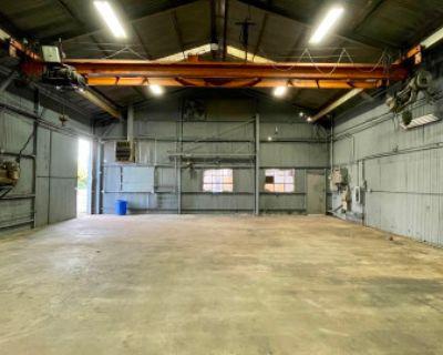 Industrial Metal Warehouse With Crane, Compton, CA