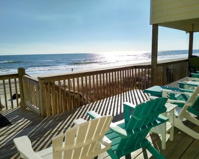 NEW LISTING! A Viewpoint - Luxury Oceanfront Home, Pets Allowed! - Emerald Isle
