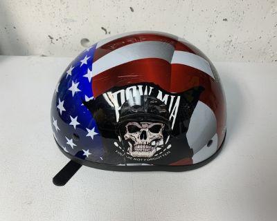 POW motorcycle helmet