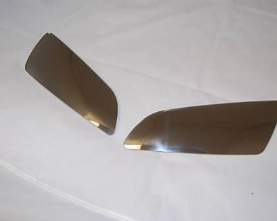 Honda Cbr600rr Cbr1000rr Lens Shield Cover Chrome - Made In England