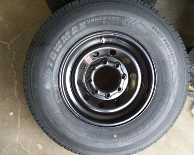 12 PLY ST235/80R16 NEW ST TRAILER TIRES