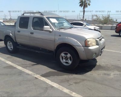 Salvage Tan 2001 Nissan Frontier 2wd