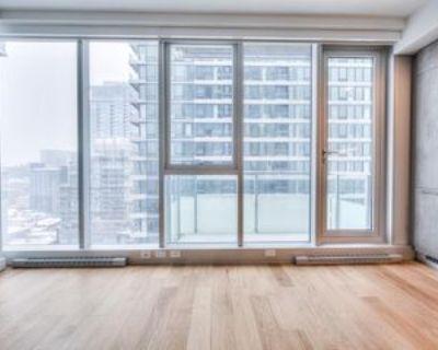 Boulevard Ren -L vesque O & Rue Bishop #2505, Montr al, QC H3G 1T6 Studio Apartment