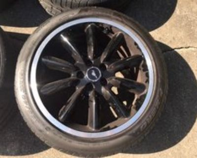2012/13 OEM Boss 302 Wheels and Tires