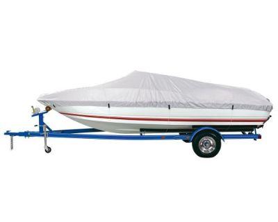 D Bc1301emc Reflective Polyester Boat Cover Model E 20-22' V Hull