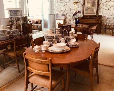 MCM Dining Table, Vintage Furniture, Waterford!