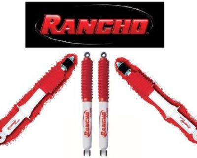 Toyota Tundra 2wd 00-06 Rancho Rs5000 Shocks Front Rear