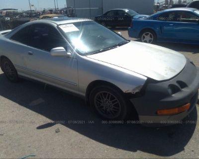 Salvage Gray 2000 Acura Integra