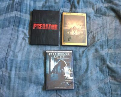 Lot Of 3 Horror Movie DVDs