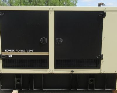 50 kw Kohler Diesel Generator
