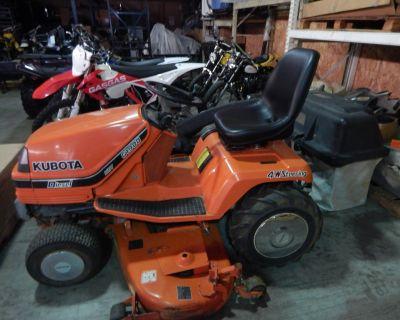 1991 Kubota G1900 HST Diesel Lawn Tractors Carroll, OH