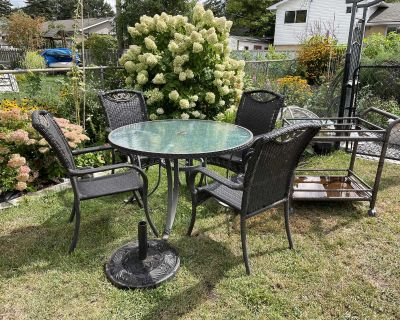 Patio dining set package deal