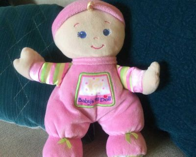 Fisher Price Baby s First Doll