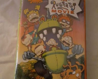 The Rugrats Movie VHS Sealed