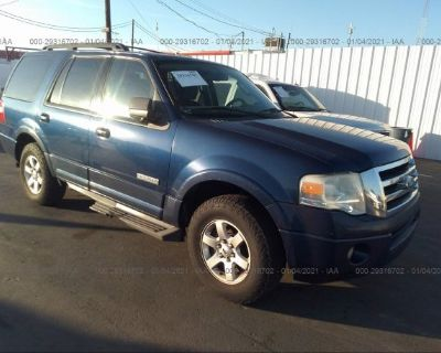 Salvage Blue 2008 Ford Expedition