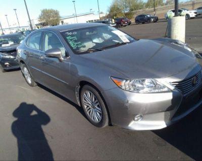 Salvage Gray 2015 Lexus Es 350