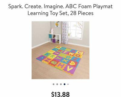 Kids foam mat pieces