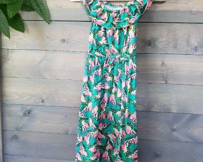 Cat & Jack Floral Maxi Dress Size L (10-12)