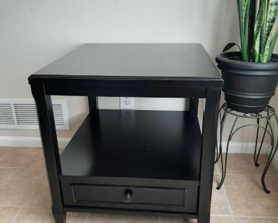Large End Table-espresso