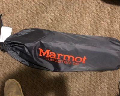 NEW: Tent, Sleeping Bag, Camping Mat