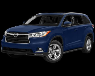 Pre-Owned 2014 Toyota Highlander Limited AWD 4D Sport Utility