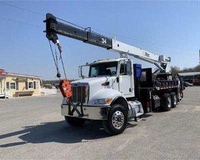 2013 PETERBILT 348 Boom, Bucket, Crane Trucks