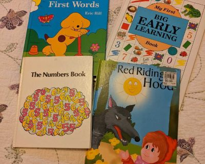Easily learning books and Red Riding Hood