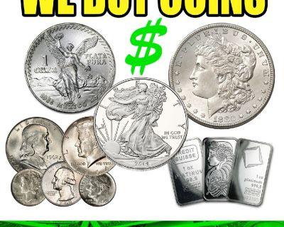 Silver Eagle, Morgan Dollar, SILVER COINS