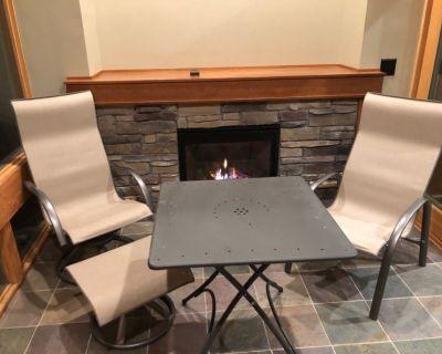 Four piece 3 season porch seating set.