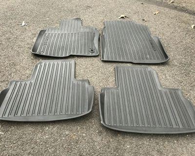 California - OEM Sedan floor mats all season