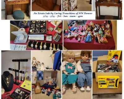 A Pretty House with Antiques & Vintage Furniture, Dolls, Stunning Quilts, Collectibles, Tools & More