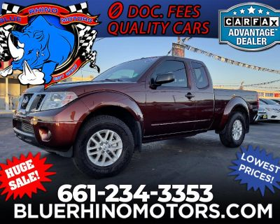 2016 Nissan Frontier SV King Cab 5AT 4WD