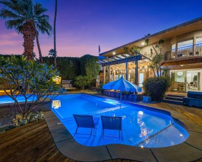 'Joplin House on Janis Street' A Palm Springs Poolside Paradise! - Chino Canyon
